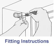 instructions for fitting cheapest blinds uk blinds