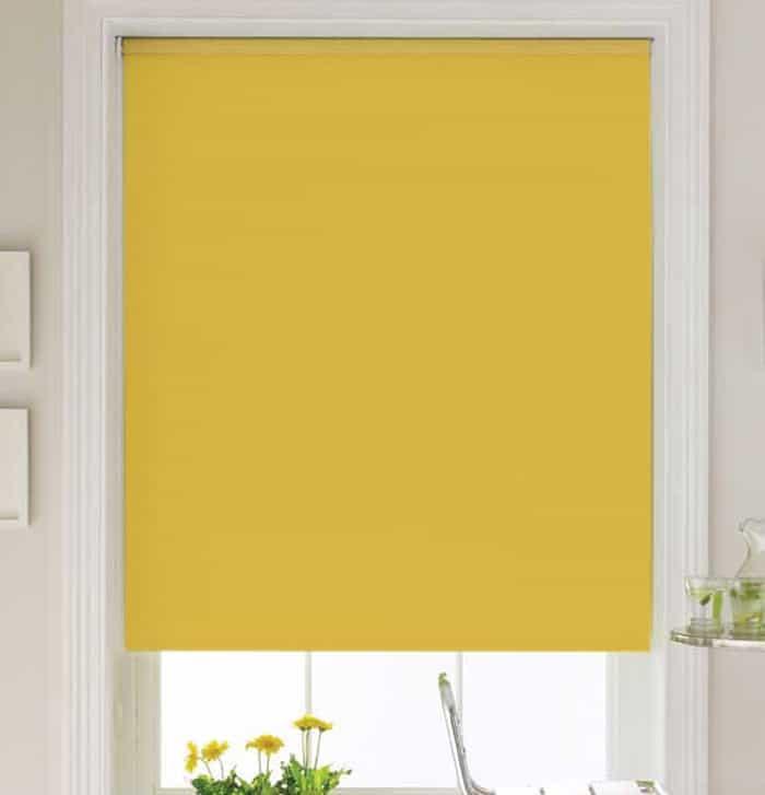 Cheapest Blinds UK | Bright Yellow Roller Blind