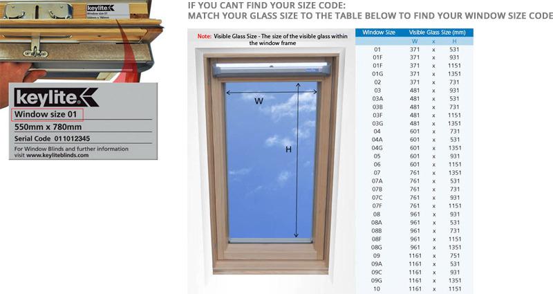 Cheapest Blinds Uk Cream Keylite Roof Blind