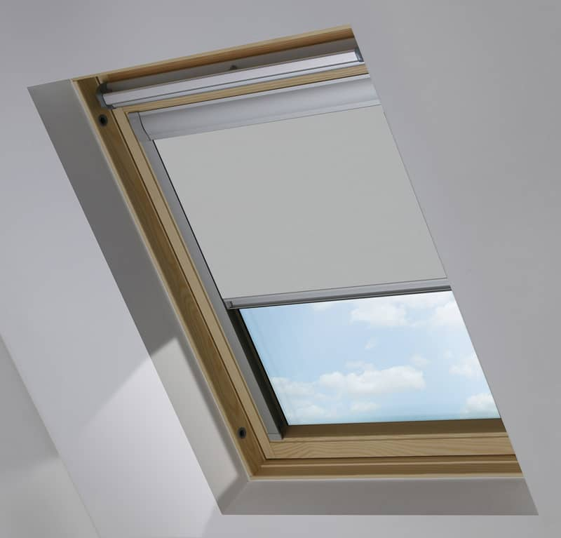 Cheapest Blinds Uk Light Grey Roof Skylight Blind For