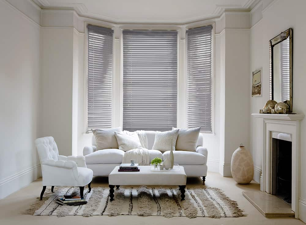 Cheapest Blinds Uk Ltd Premium Ash Grey Wood Venetians