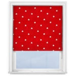 Roman Blinds Prestigious Textiles Twinkle Cardinal Red
