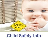 child safety information for fitting blinds