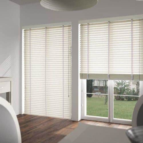 Antique White With Tapes Cheapest Blinds Uk Ltd