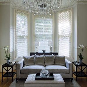 Cheap Antique White Wooden Blinds