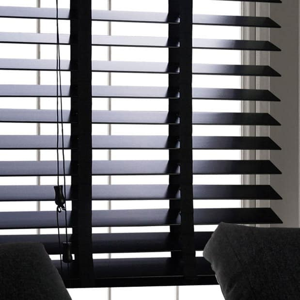 Cheapest Blinds Uk Ltd Black With Tapes
