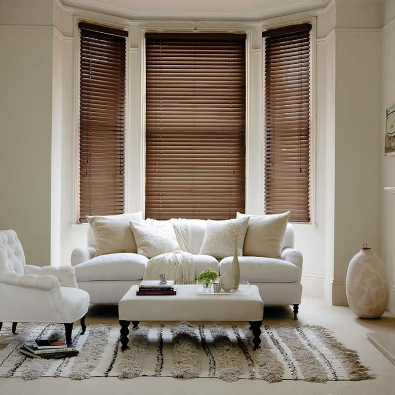 Cheapest Blinds Uk Ltd Rich Mahogany With Cords