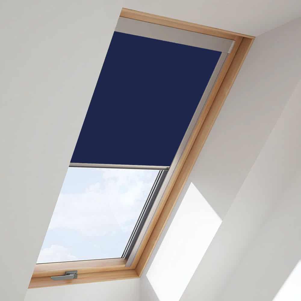 Navy Blue Roof Skylight Blind For Fakro Windows Cheapest