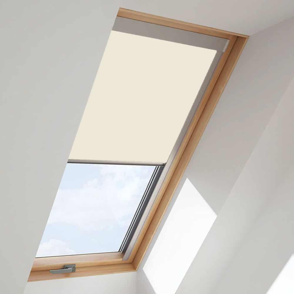 cheapest blinds uk ltd cream roof skylight blind for fakro windows. Black Bedroom Furniture Sets. Home Design Ideas