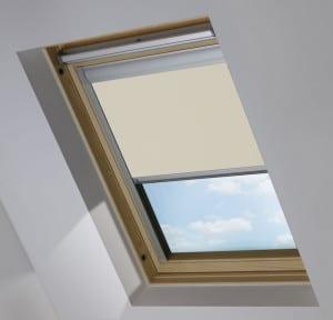 Cheap Cream Keylite Skylight Roof Blind