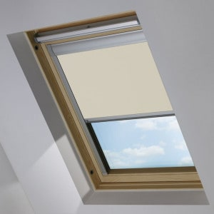 Cheap Cream Keylite Skylight Roof Blind