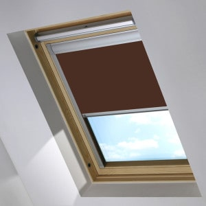 Cheap Brown Keylite Skylight Roof Blind