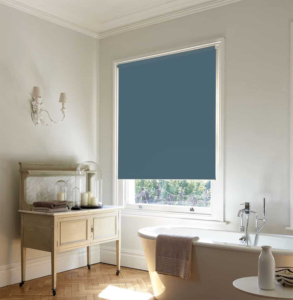 Cheapest Blinds Uk Ltd Dark Sage Green Roller Blind