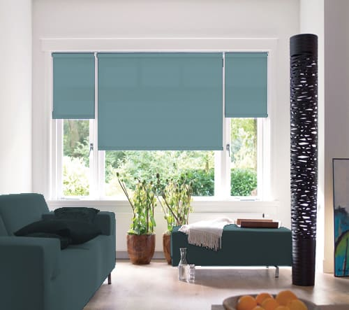 Cheapest Blinds Uk Ltd Duck Egg Blue Roller Blind
