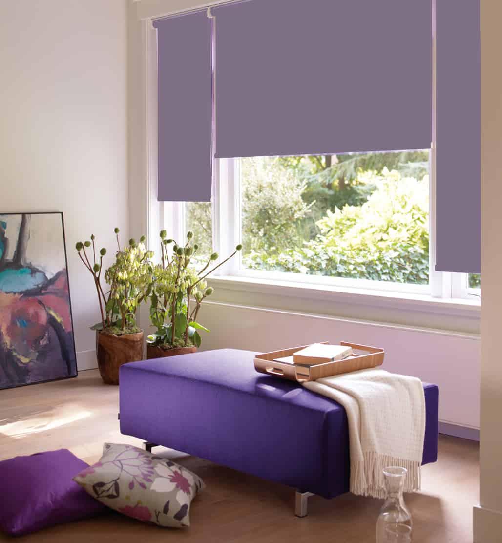 Purple Roller Shades : Cheapest blinds uk ltd dusky purple roller blind