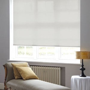 Cheap Light Dove grey Roller Blind