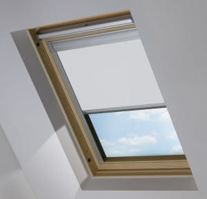 Cheap White Keylite Skylight Roof Blind