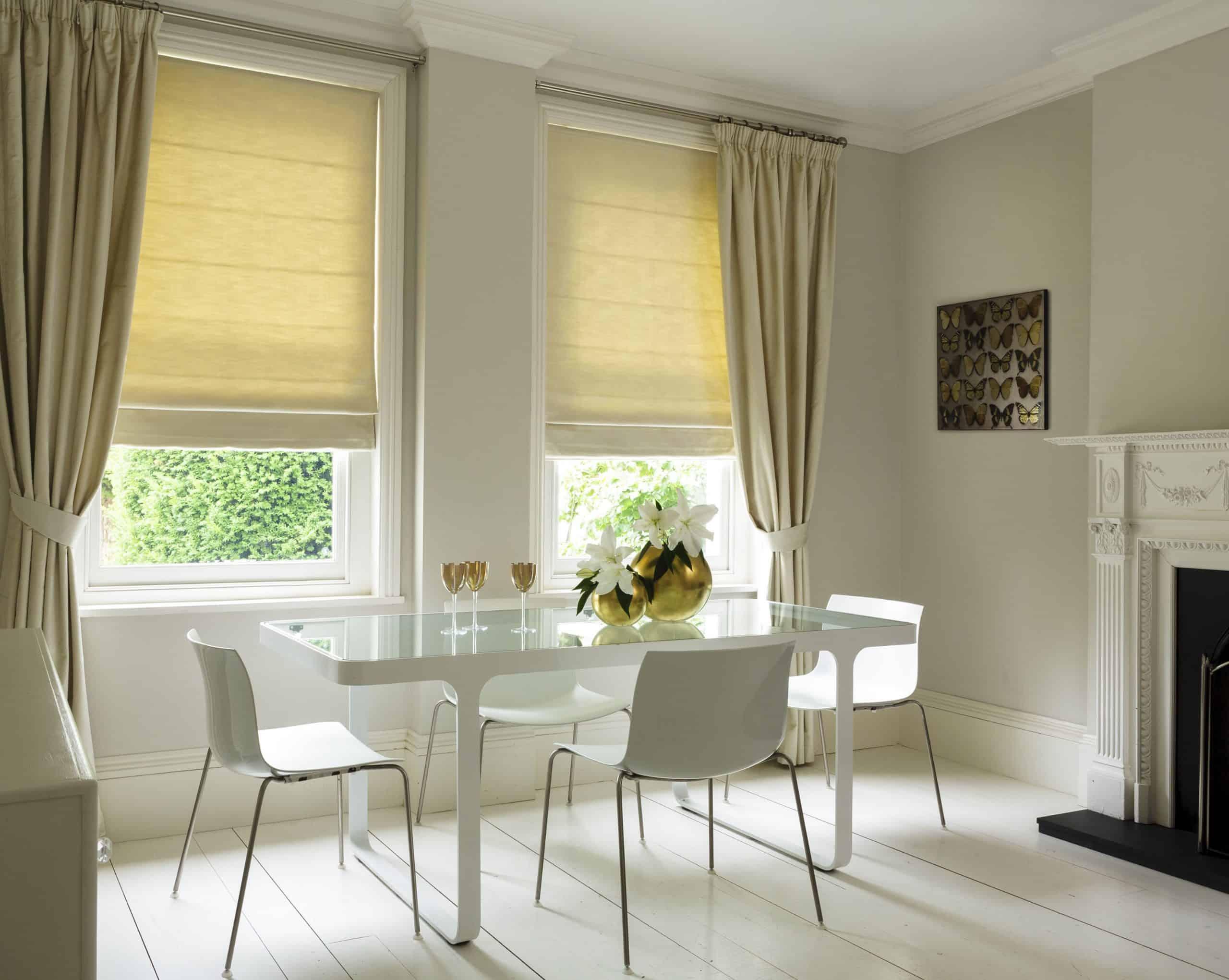 Римские шторы на окна в современном дизайне
