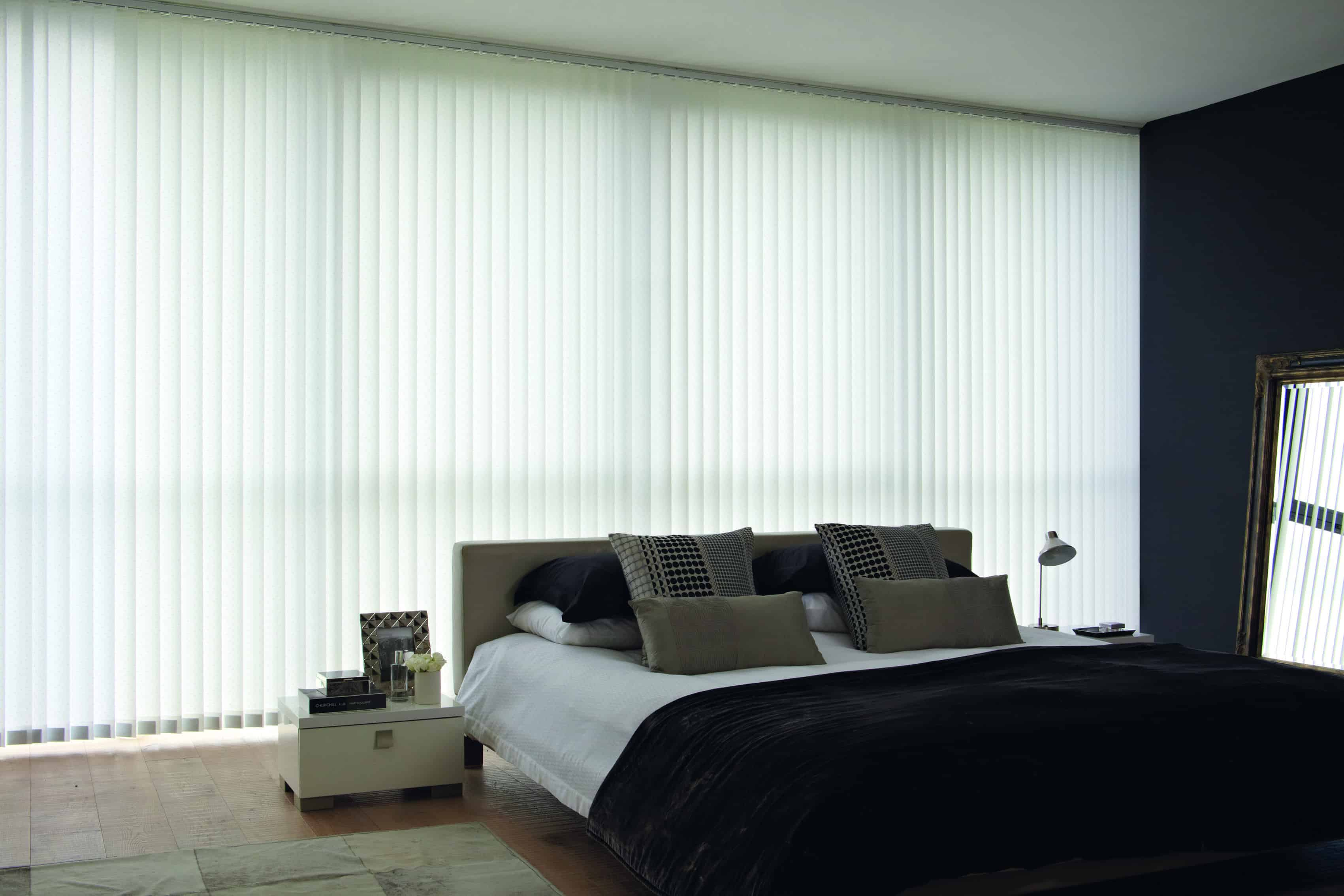 img blinds panel vertical white