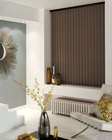 Brown Vertical Blinds Cheapest Blinds Uk Ltd