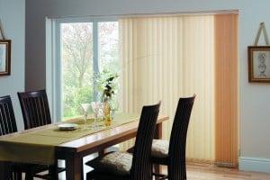 Cheap magnolia vertical blinds