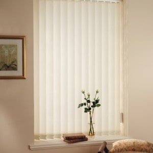 cheap cream vertical blinds