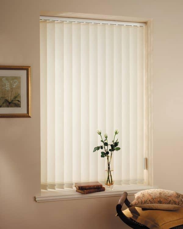 cheap cream vertical blinds