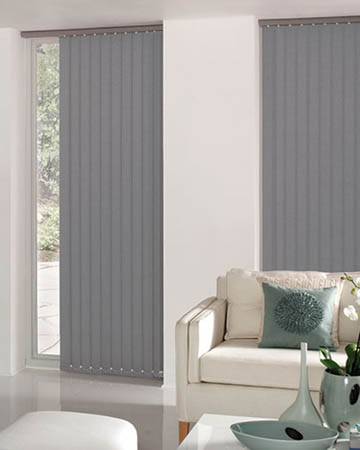 Dark Grey Vertical Blinds Cheapest Blinds Uk Ltd