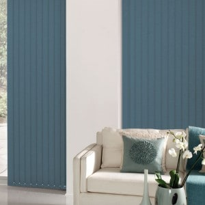Dark Sage Green Vertical Blinds