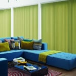 Lime Green Vertical Blinds