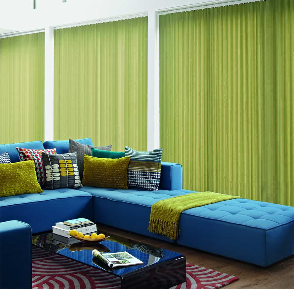 Cheapest Blinds Uk Ltd Lime Green Vertical Blinds