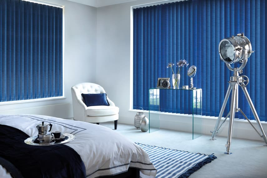 Navy Blue Vertical Blinds Cheapest Blinds Uk Ltd