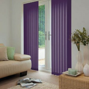cheap purple vertical blinds