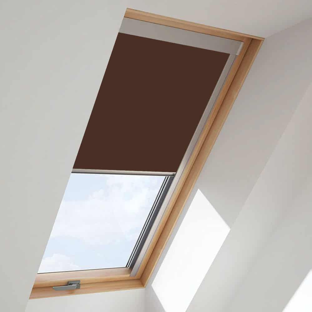 Brown Roof Skylight Blind For Velux Windows Cheapest