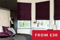 cheapest roman blinds uk