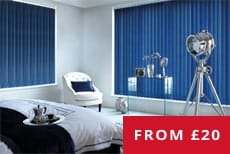 cheapest vertical blinds uk