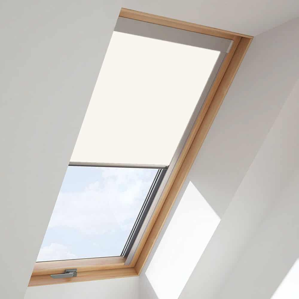 White Roof Skylight Blind For Velux Windows Cheapest