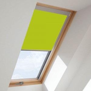 bright-green-fakro-roof-skylight-blind