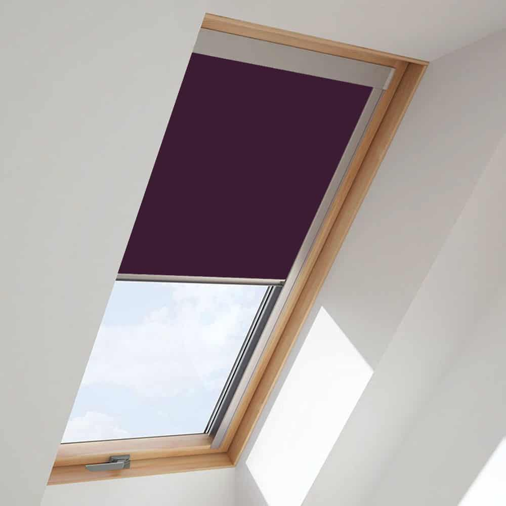 Purple Roof Skylight Blind For Velux Windows Cheapest