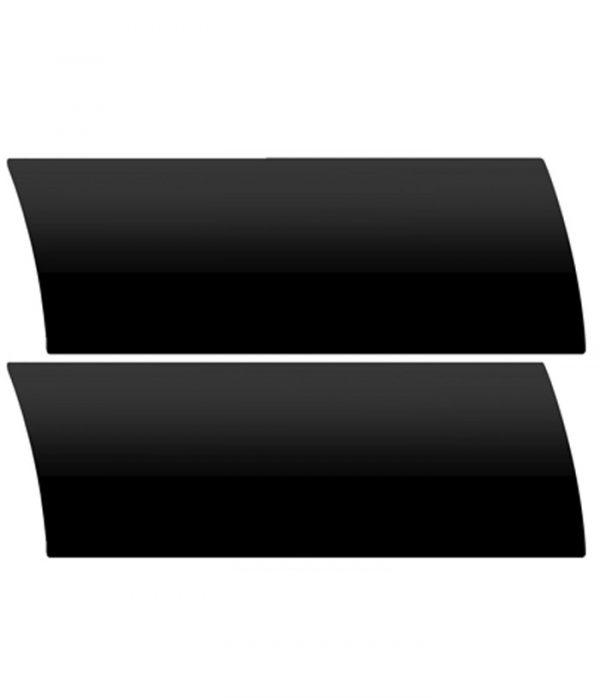 Black Aluminium Venetian Blinds Colour Sample