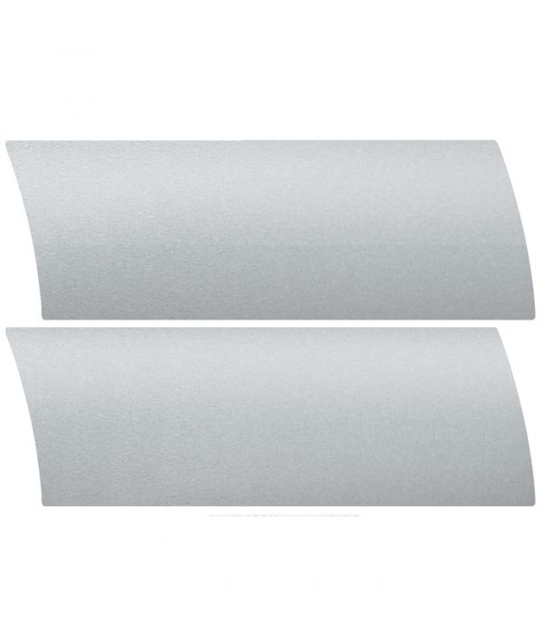 silver aluminium venetian blind colour sample