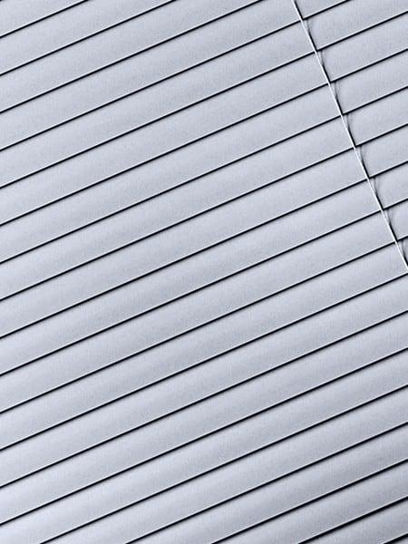 silver aluminium venetian blinds
