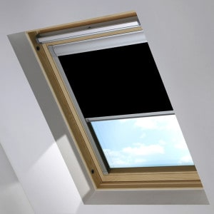 Cheap Black Dakstra Skylight Roof Blind