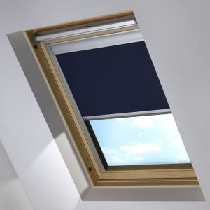 Navy Blue Dakstra Roof Skylight Blind