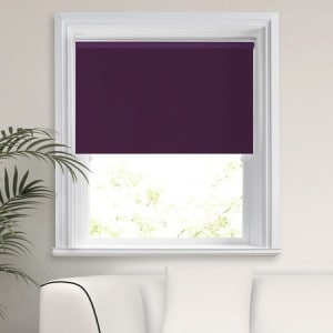 Purple Blackout Roller Blind