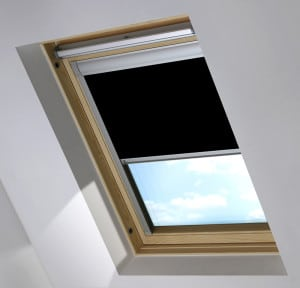 Cheap Black Rooflite Skylight Roof Blind