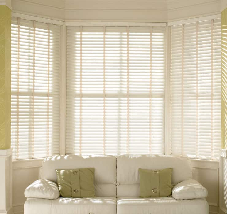 Cheapest Blinds Uk Ltd Cream Faux Wood With Tapes Wood
