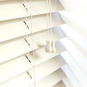 cream next day wooden venetian blinds