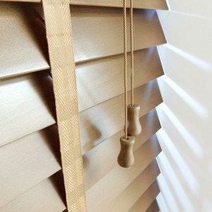 Cheap next day medium oak wood venetian blinds with tapes
