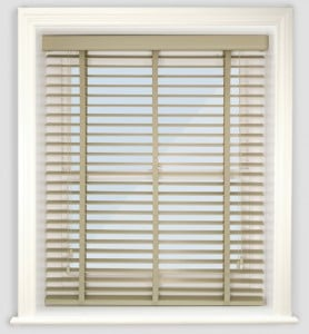 Next Day Alabaster WoodCheap Venetian Blinds With Tapes